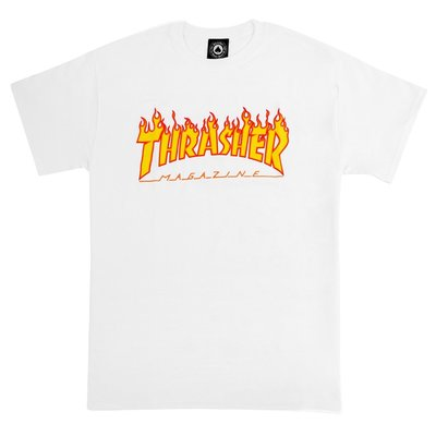 【HOPES】THRASHER FLAME-WHITE