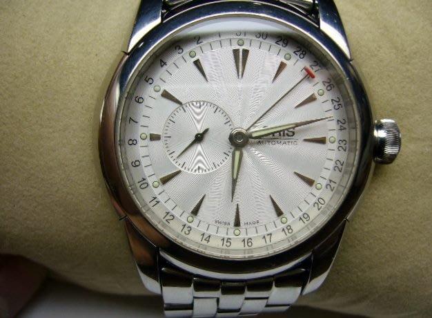 [吉宏精品交流中心]ORIS 豪利時 白面 大表徑 不鏽鋼 自動機械 男錶