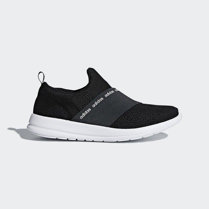 南◇2018 6月 adidas Cloudfoam Refine Adapt DB1339 繃帶鞋 懶人鞋 黑色 忍者