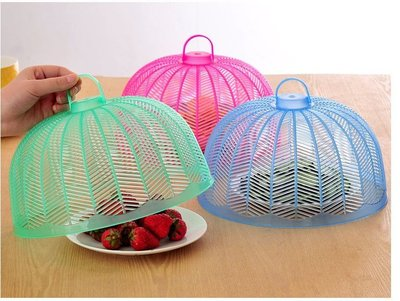 環保塑料餐桌罩 飯菜罩 廚房防蠅防蟲菜...