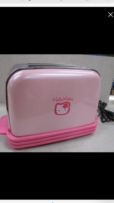 Hello Kitty Sanrio 凱蒂貓 烤吐司機 SANYO 烤麵包機