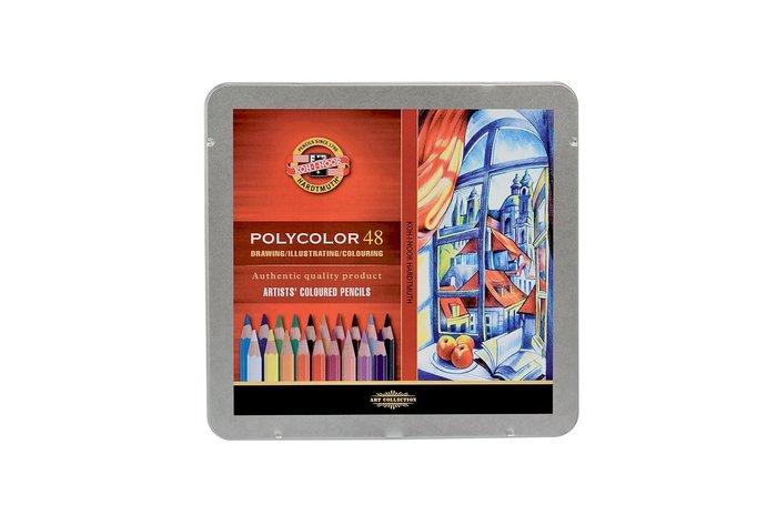 【Artshop美術用品】捷克 KOH-I-NOOR 藝術家油性色鉛筆 (48色) 鐵盒