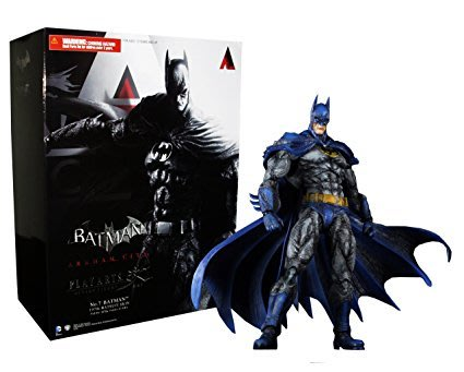 金錢貓雜貨 全新  Play Arts 改 ARKHAM CITY NO.7 1970s Batman 蝙蝠俠
