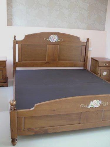 美生活館-全實木鄉村彩繪家具邱比特 床組衣櫥 白色 銅柚 雙色 -可訂製尺寸可改色