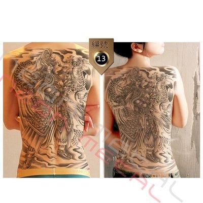 现货 ?满背刺青贴纸 纹身贴 传统刺青贴 刺青 纹身 满背 TTA13卖场还有多款造型欢迎参观