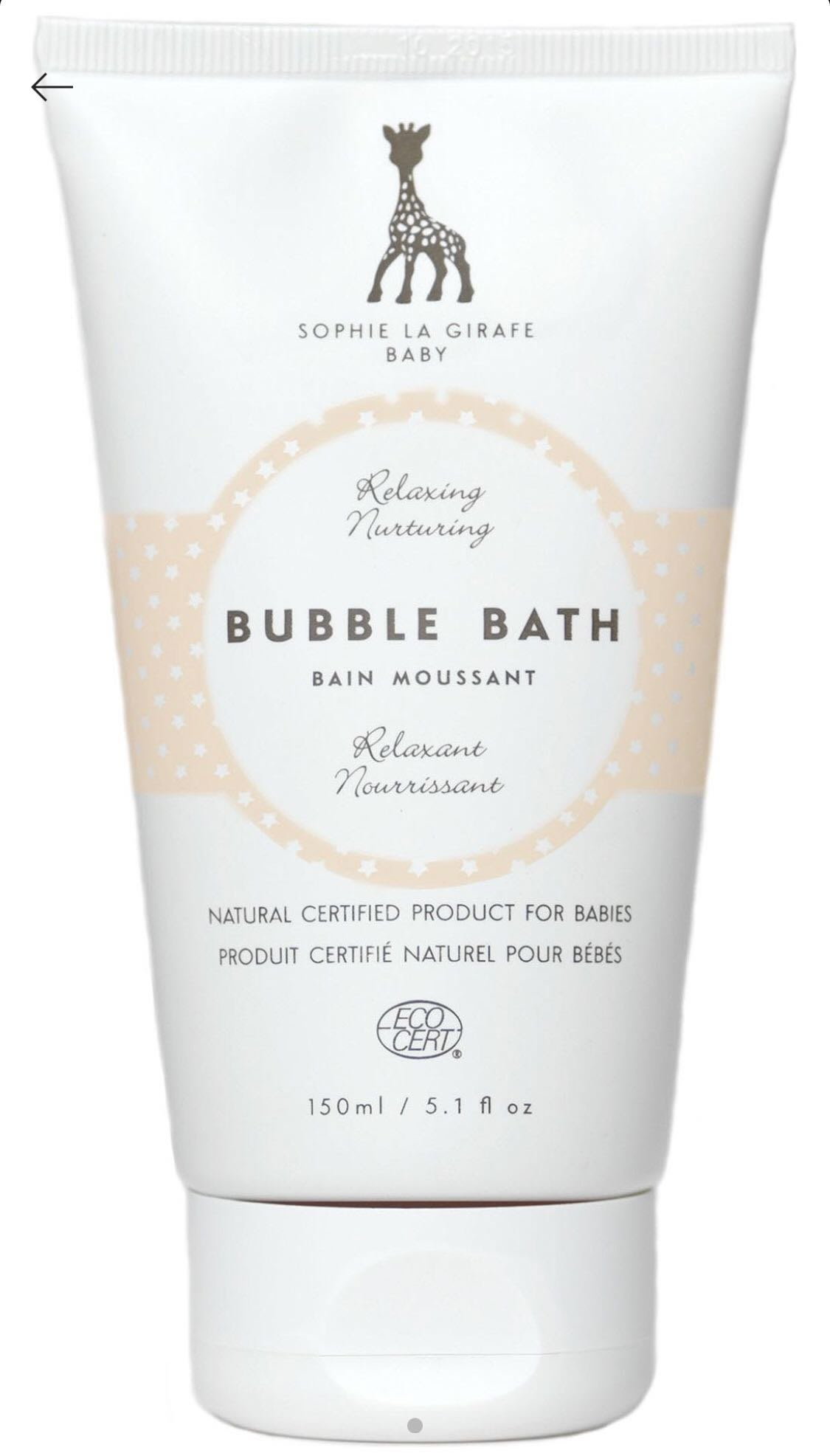法國 蘇菲長頸鹿SOPHIE THE GIRAFFE Baby bubble bath 150ml 泡泡浴(預購)