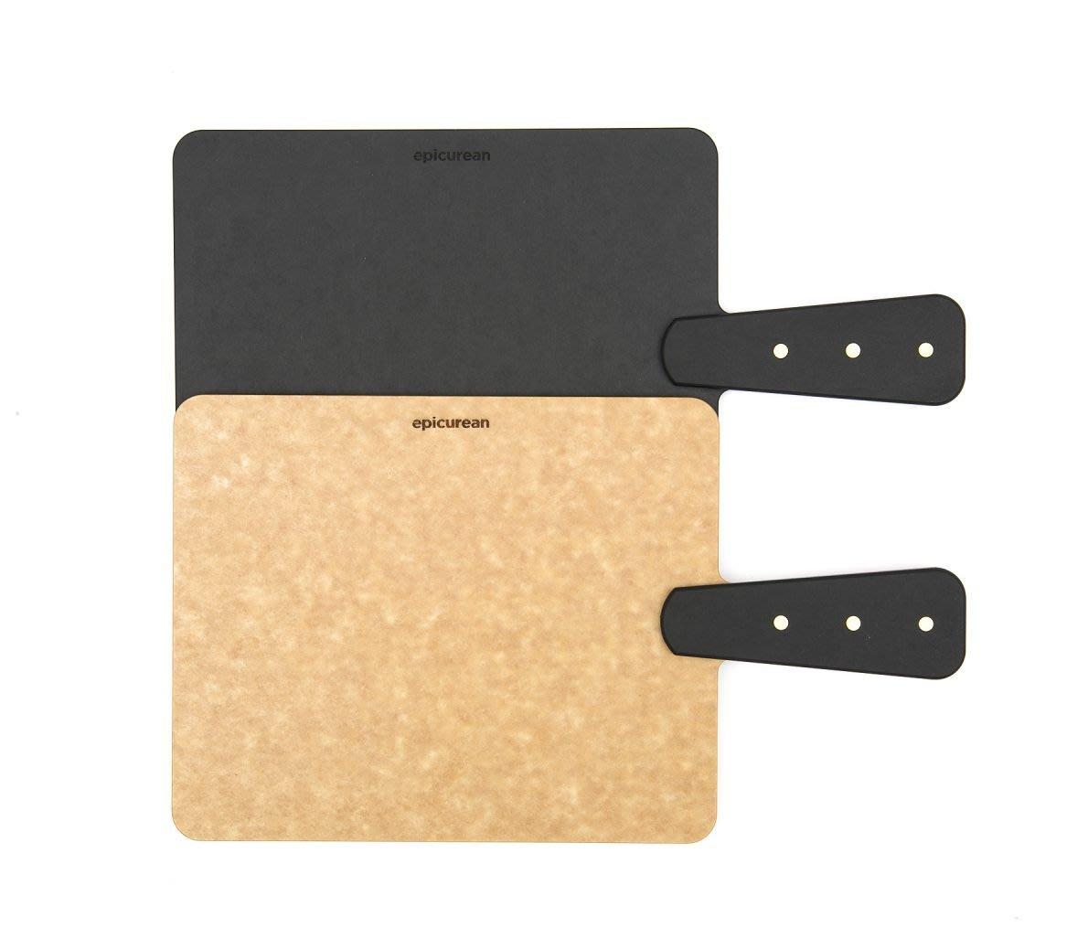 美國Epicurean砧板 (Riveted Handle Handy) 把手款砧板S號