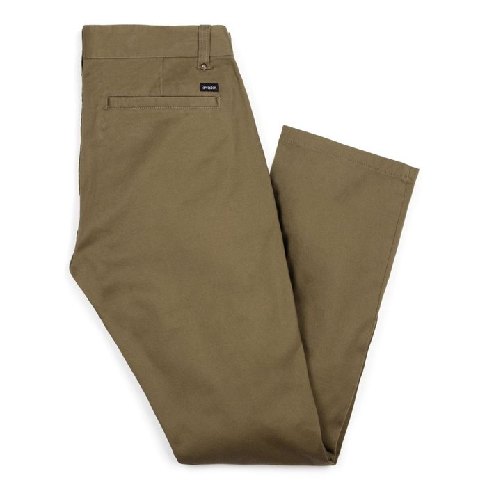 《Nightmare 》BRIXTON RESERVE CHINO PANT OLIVE