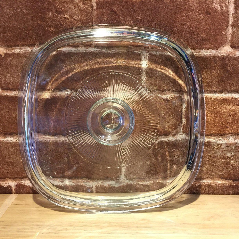 【魔法櫥櫃】美國原裝進口/方型康寧鍋/1L&1.5L鍋蓋/18公分/單鍋蓋/各尺寸/百麗耐熱玻璃/有現貨歡迎直接下標
