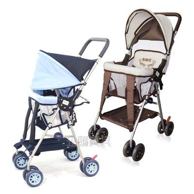 @企鵝寶貝@ EMC 伊買-全罩式輕便揹架車 背架車/嬰兒推車/手推車可當機車椅
