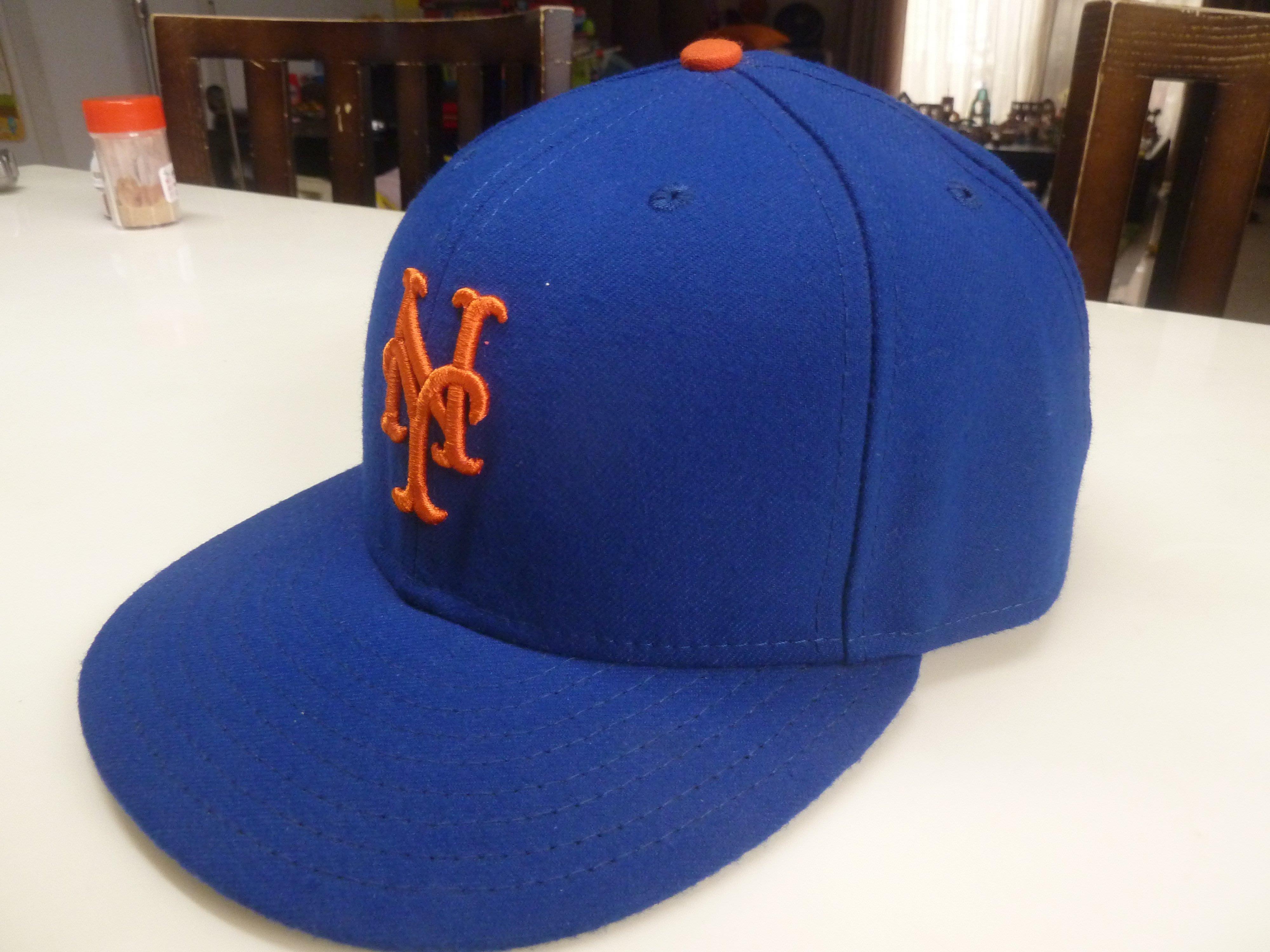 中古正品 美國職棒大聯盟MLB 紐約大都會Mets 球員帽封口帽 7 5/8 詳閱說明 非洋基