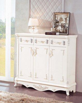 【大熊傢俱】169  玫瑰  多功能儲物櫃   收納櫃  櫥櫃法式 衣櫥   儲物櫃 鄉村風