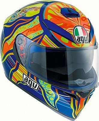 AGV K-3 SV VR46 Five Continents Replica  helmet 龍 圖騰五大洲 羅西小舖 山葉 motogp VR46