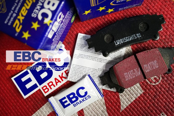 英國原裝 EBC Brakes Ultimax2 黑皮 高性能來令片 各等級 各系車車款 歡迎詢問~/ 制動改