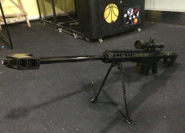 Jame's Room#1:1 巴雷特M82A1經典 狙擊步槍 紙模型