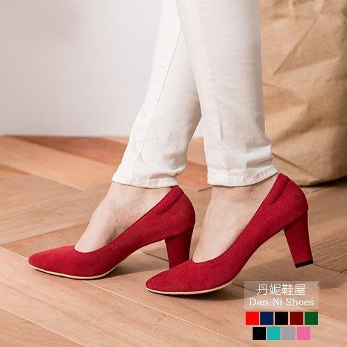 831  丹妮鞋屋 早秋新品 高跟鞋 尖頭鞋 9色微性感尖頭美國進口麂皮高跟鞋 靜音天皮 MIT台灣製造手工鞋 丹妮鞋屋