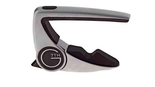【六絃樂器】全新英國品牌 G7TH Performance 2 Capo 二代 民謠吉他移調器 / 現貨特價