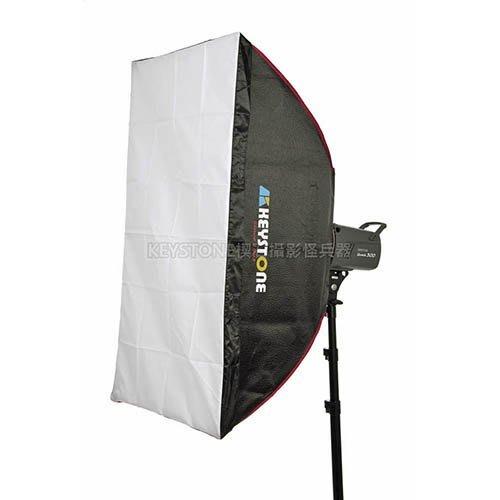 呈現攝影-Keystone LFC 60x90cm 無影罩 柔光罩 雙層柔光 顆粒銀 外拍燈持續燈 棚燈 Bowens卡