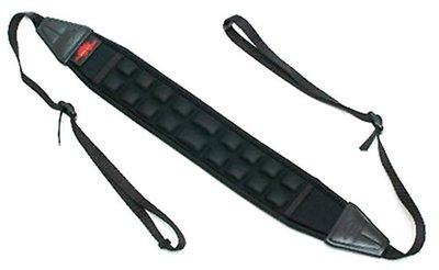呈現攝影-韓國AIR CELL 5.5cm 氣墊式舒壓相機背帶 AIR-02 減壓背帶 /透氣 顆粒 數位單眼 黑色