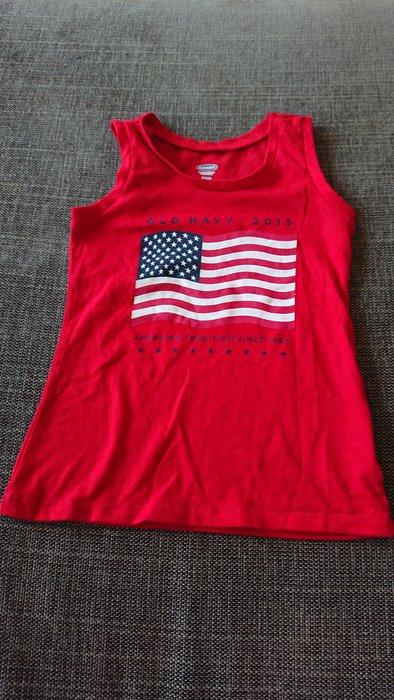 Old Navy 紅色無袖T~shirt