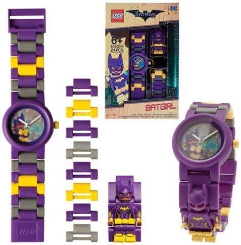 美版預購【LEGO 樂高】2017年最新/ 蝙蝠俠電影系列: 蝙蝠女 手錶 BATGIRL 人偶手錶 公仔 含原廠盒