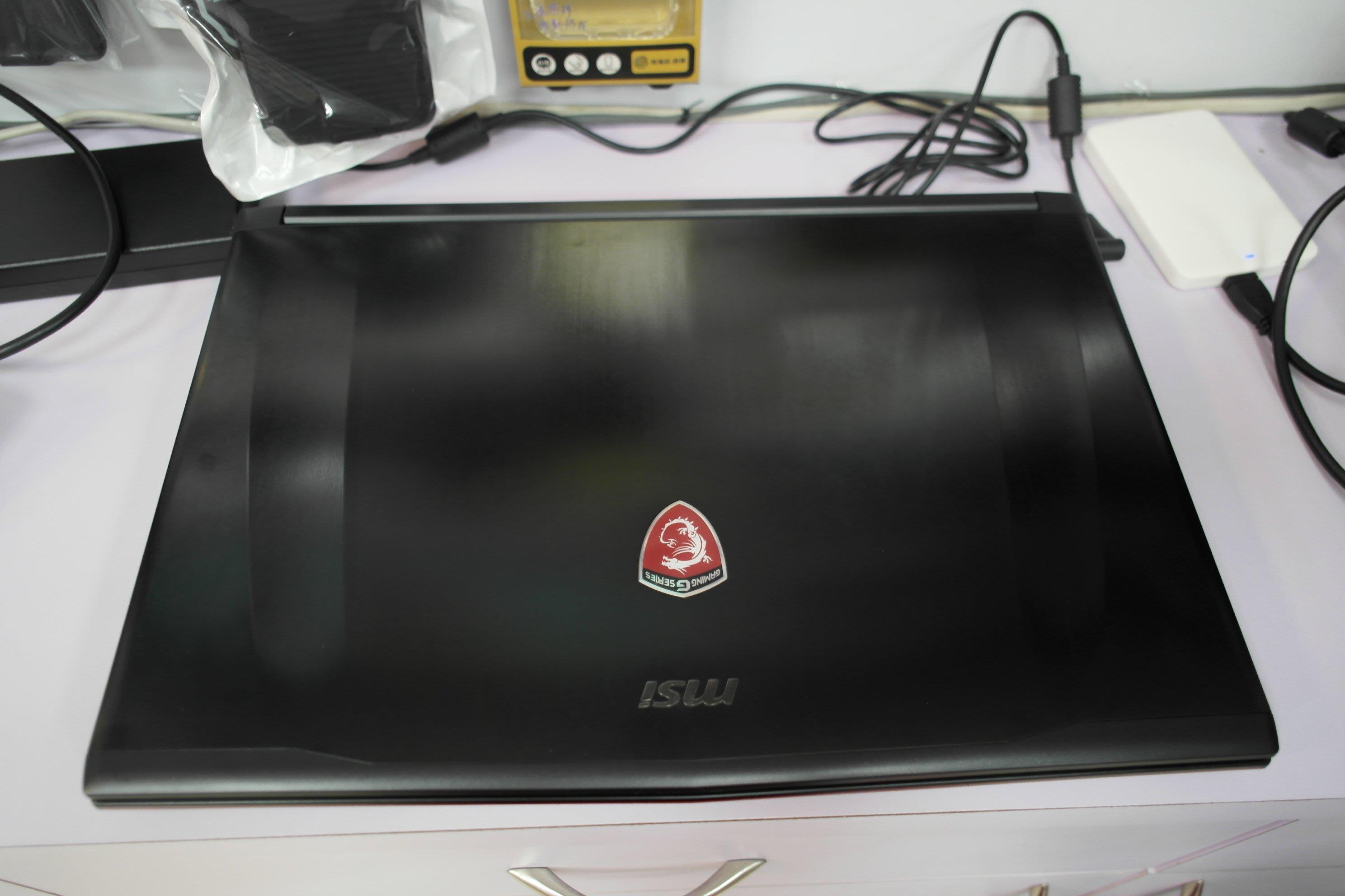 MSI GE72 6QE i7-6700HQ 8G SSD120G+1T GTX965M