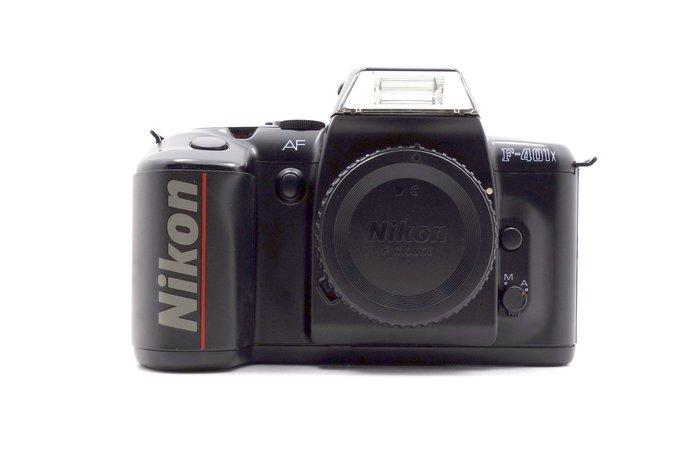 【台中競標】Nikon F-401X 單機身 底片相機 無底價競標 標多少賣多少 料機出售 #24383