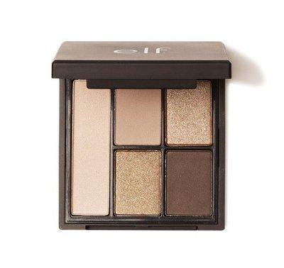 【新品特價】ELF E.L.F Clay Eyeshadow Palette 五色 眼影盤 7.5G #大地裸色