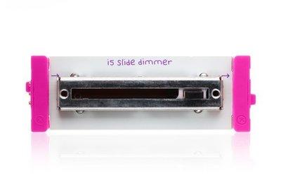 美國 littleBits 零件 (input):  slide dimmer (8折出清)