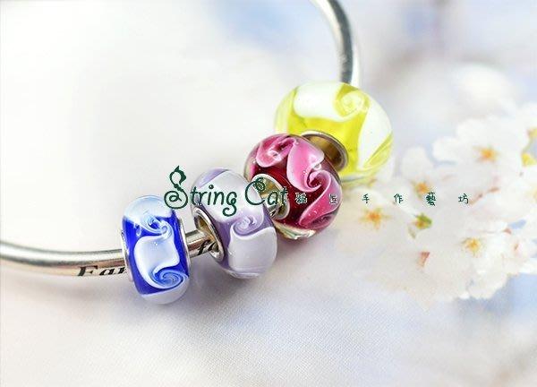 【String Cat】《煙縷》925純銀潘朵拉風格 串珠串飾 Charms beads