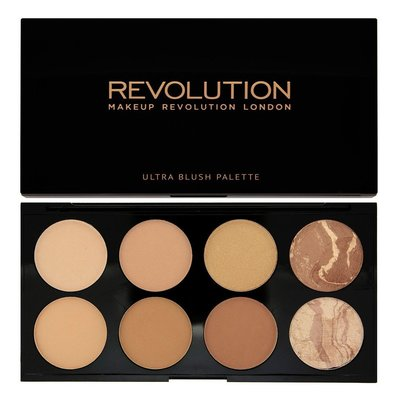 【愛來客 】英國MakeupRevolution  Bronze Palette All About Bronze修容盤