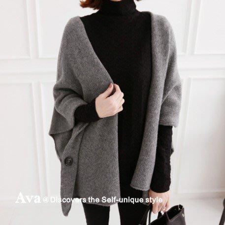 Ava正韓羊毛(wool)混紡開襟外套2色 氣質渡假優雅 韓國連線 實拍 現貨 1022-I526660