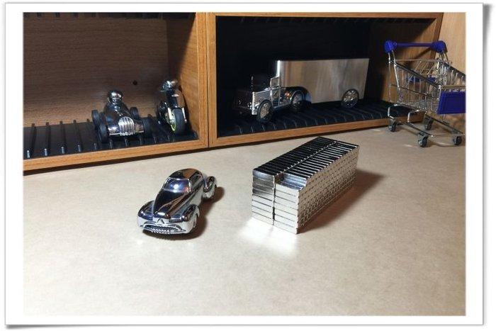 強力磁鐵條-20mmx5mmx5mm--結合木製品開發磁吸功能層板哦!