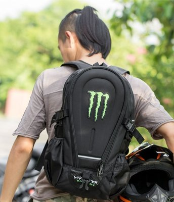 鬼爪星款耐磨騎士雙肩背包摩托車戶外旅遊包機車包徒步包旅行包 單肩包 雙肩包 背包 電腦包機動車後背包