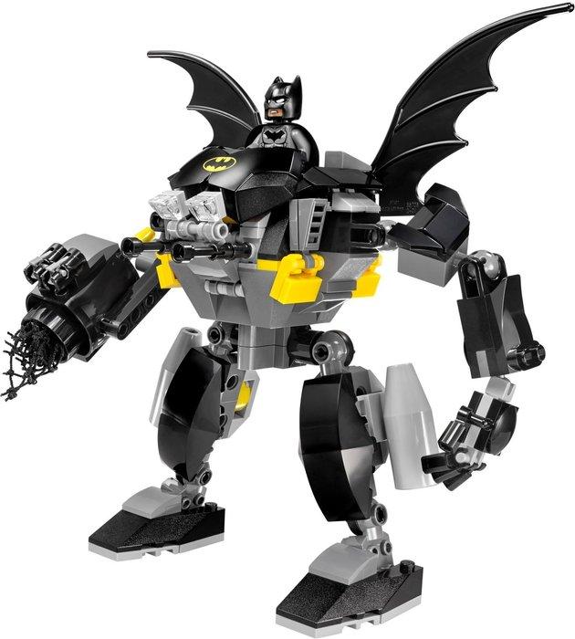 現貨【LEGO 樂高】全新正品 積木 / 超級英雄系列 76026   人偶拆賣: 蝙蝠機甲+蝙蝠俠 Batman