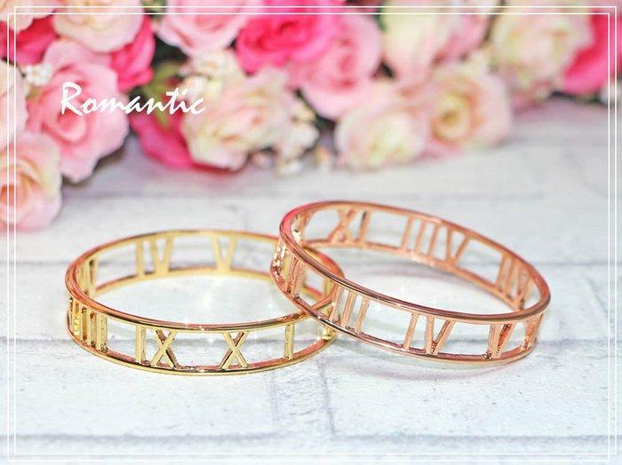 浪漫派飾品 A240~~ 羅馬小姐 兩色  手環