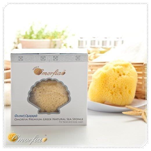 Omorfia 歐摩菲亞敏感肌洗臉專用希臘天然海綿 - 絲綢 5-5.5 吋