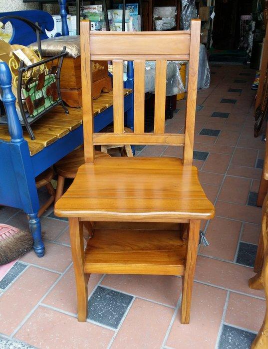 美生活館 --柚木實木家具--樓梯椅/書椅/餐椅/輔助椅