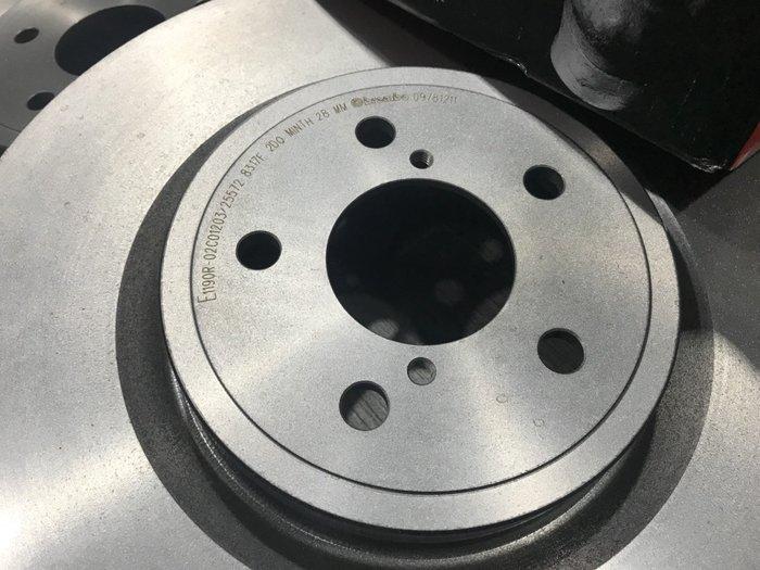 ☆光速改裝精品☆義大利  Brembo  Subaru Impreza  WRX STI 前碟 326mm