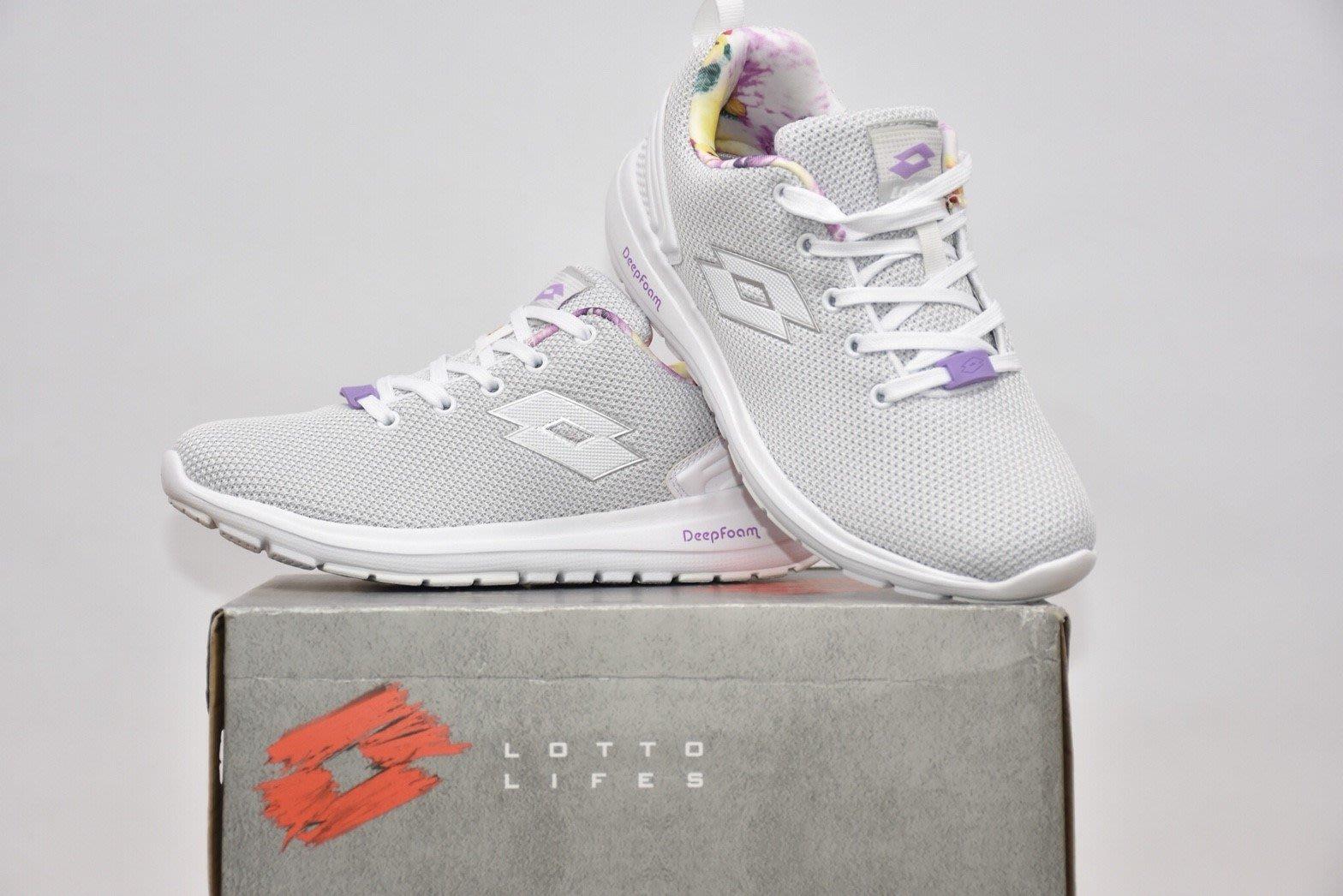 LOTTO 白色運動鞋