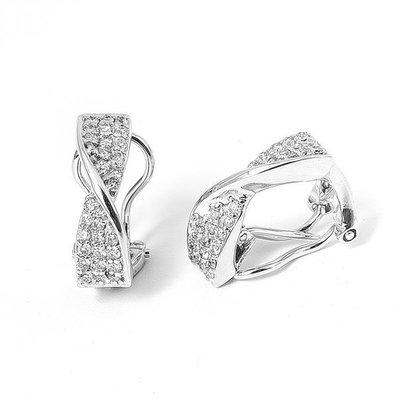【JHT金宏總珠寶/GIA鑽石專賣】0.50克拉天然鑽石耳環/材質:18K(JB38-A13)
