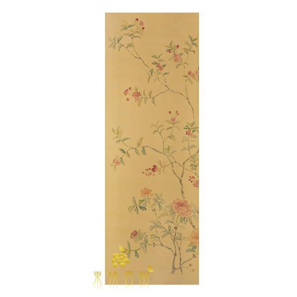 【芮洛蔓 La Romance】手繪絲綢壁紙 ZW01-019-03 / 牆紙 / 壁畫 / 掛畫