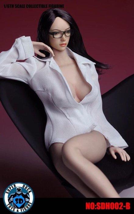 James room#三款super duck亞洲版植髮鳳眼頭雕預購 僅售頭雕不含素體衣服 三款頭可選 sdh002