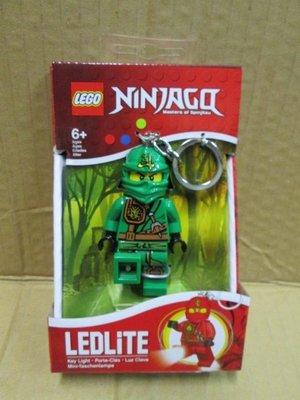 (STH)2015年 LEGO 乐高 LED 人偶钥匙圈 Ninjago 劳埃德忍者-绿色  盒装组
