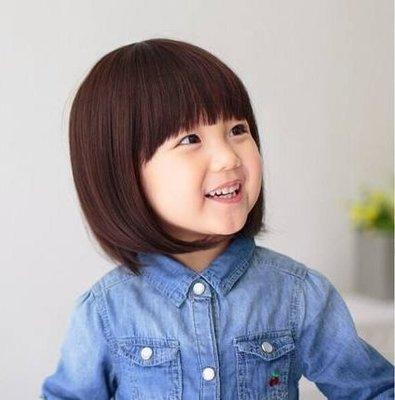 水媚兒假髮E-2♥新款兒童假髮 公主短鮑伯頭 ♥ 現貨或預購