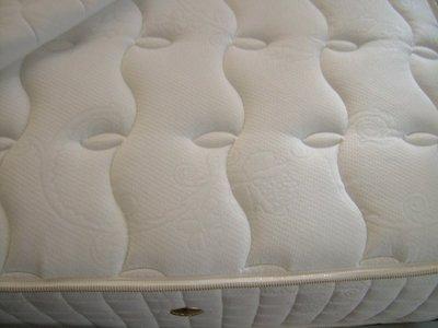 尊爵床墊~~3線上墊3cm純天然乳膠護背日式加強獨立筒床墊單人x3 雙人x1