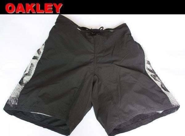【OAKLEY】沖浪 滑板 單車 風帆 機能性休閒海灘短褲/31,32,34 腰*全新正品 美國寄出*O007*