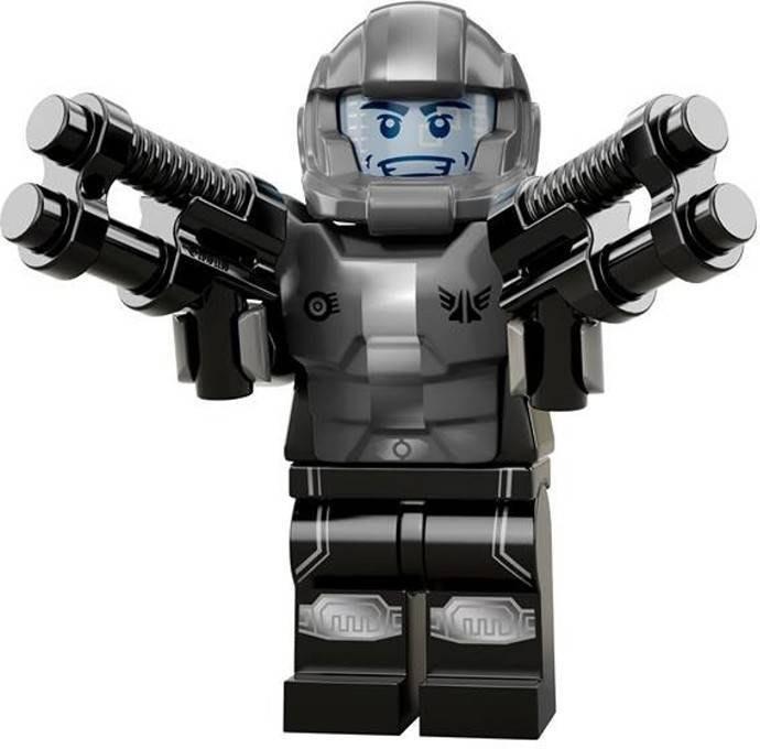【LEGO 樂高】益智玩具 積木/ Minifigures人偶系列: 13代人偶包【銀河騎兵】全新未組 71008