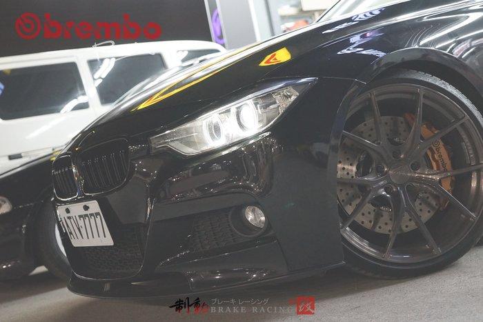 BMW F30 F31專用 brembo ZL1/ZR1 前六後四 對應前後380mm全浮動盤 高規格搭配 / 制動改