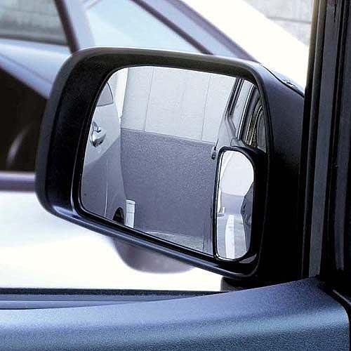 愛瑪小舖- CARMATE CZ245 安全輔助鏡 長半圓型  黏貼式超廣角行車輔助鏡